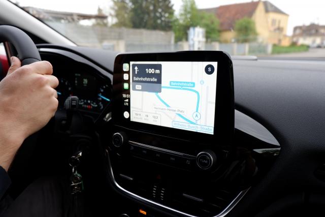 GPS機能によって自分の現在地が常にリアルタイムで特定されるようになっている