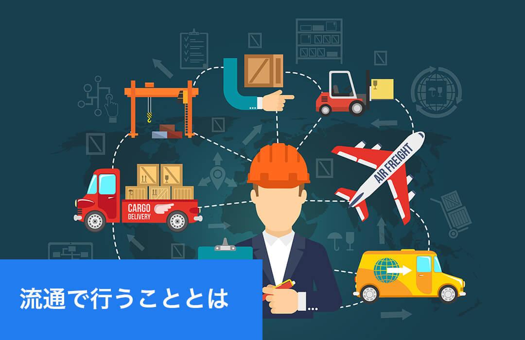 流通とは|商流や物流の関係性などを解説|物流倉庫業務改善ブログ ...