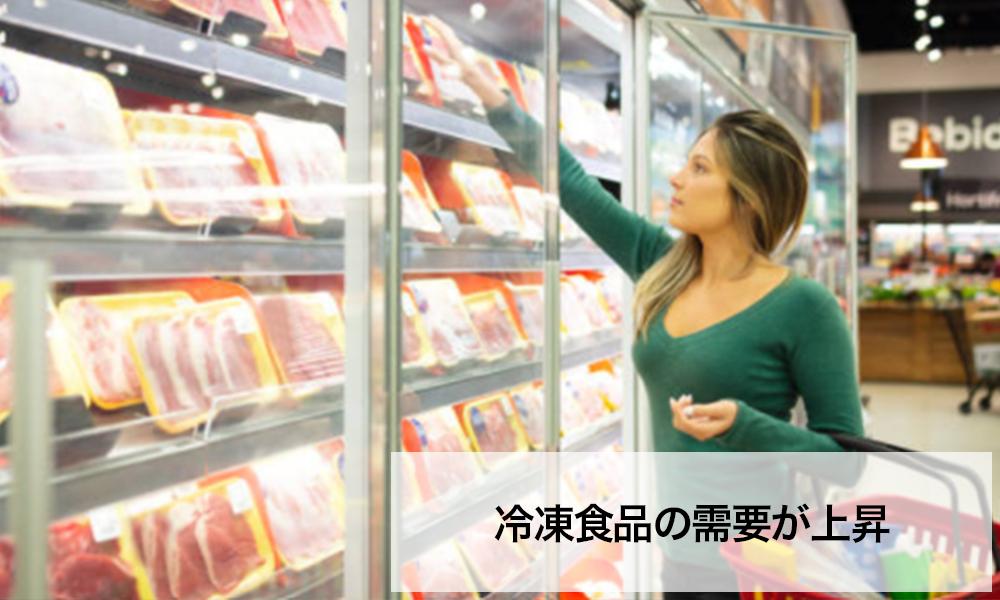 冷凍食品の需要が上昇|株式会社関通